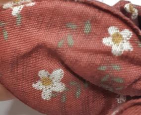 Turbante Infantil Laço Tiara Várias Estampas - Kit Com 5