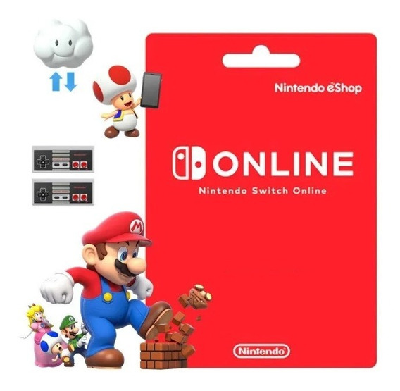 Nintendo Switch Online | 12 Meses Digital