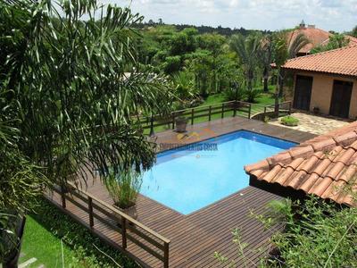 Chácara À Venda, 1500 M² Por R$ 1.350.000 - Chácara Residencial Paraíso Marriot - Itu/sp - Ch0100