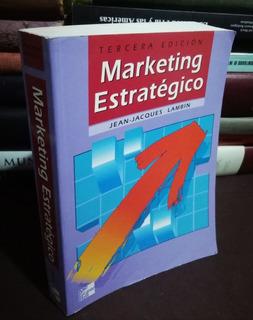 Marketing Estratégico - 3a Edición - Jean Lambin - 2003