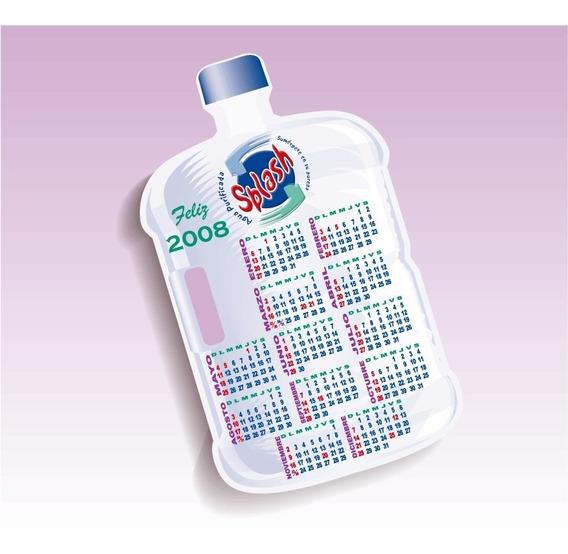 Mil Calendarios Cartulina Carta Todo Color Forma Especial