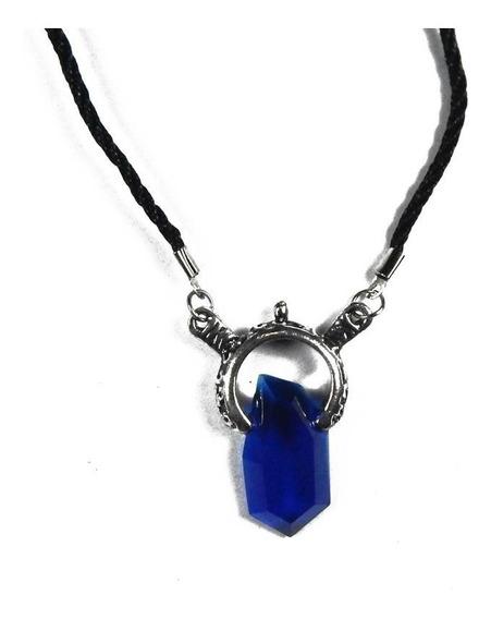 Devil May Cry Collar Importado Vergil Amuleto Azul Dante