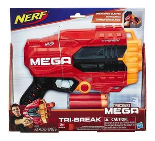 Nerf Tri Break Arma Nstrike Mega Hasbro
