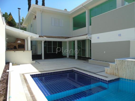 Casa Para Aluguel Em Loteamento Alphaville Campinas - Ca024862