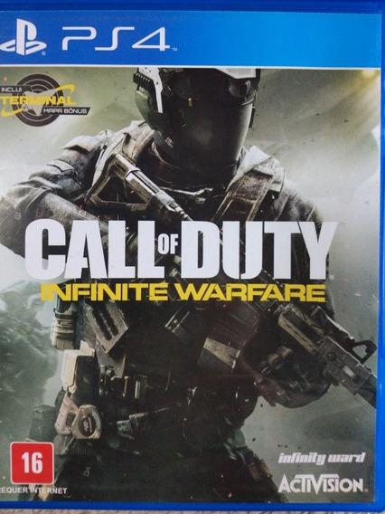 Call Of Duty Infinite Warfare Ps4 Mídia Fisica