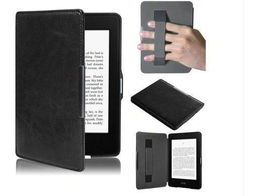 Capa Para Kindle Paperwhite Preto + Caneta E Pelicula Cod.5f