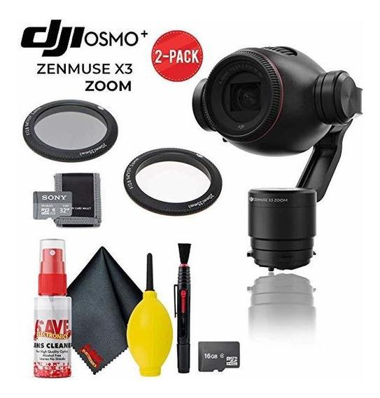 Camara Dji Osmo+ Zenmuse X3 Zoom Gimbal Y 2-pack Y Cleani -®