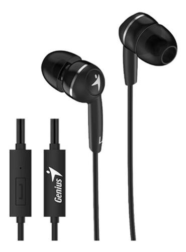 Auriculares Genius Hs-m228 Con Microfono Celular In Ear