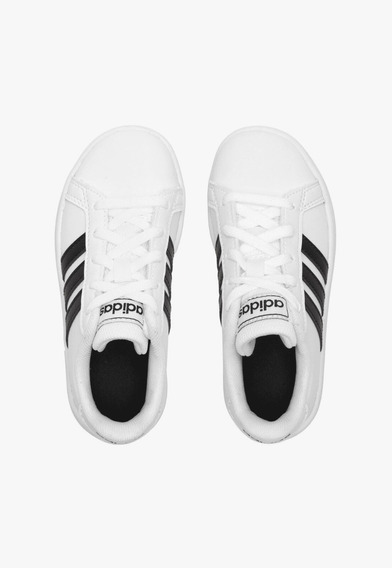 Tenis adidas 02/2020 Grand Court Ef0103 Branco/preto