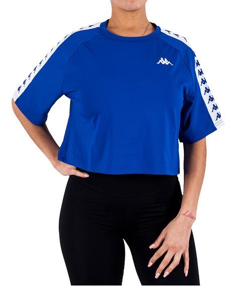 Remera Kappa Authentic T- Shirt Azul
