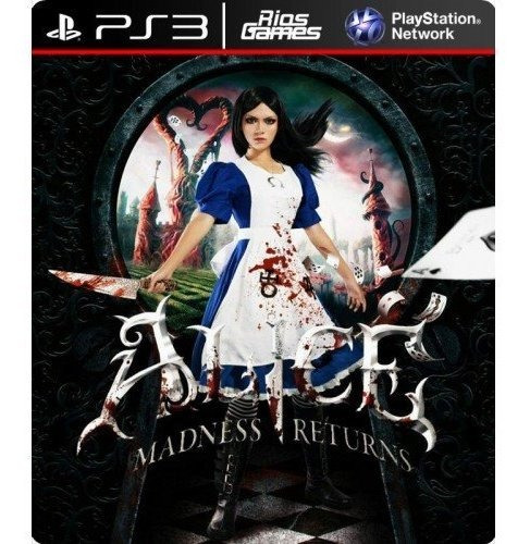 Alice Madness Returns Ps3 Via Psn Original