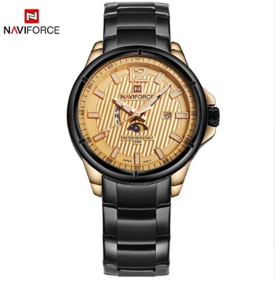 Relógio Masculino Naviforce 9084 Pulso Original Frete Grátis