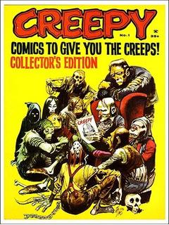 Pôster Cinema Filme Terror Horror Artes Revista Creepy # 01