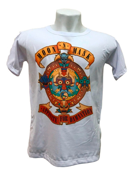 Camiseta The Legend Of Zelda Majoras Mask
