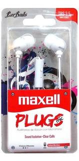Auricular In-mic Maxell - Originales