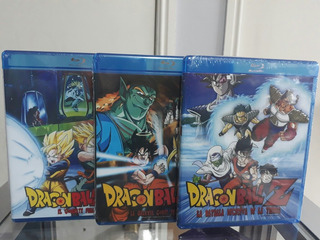 Pack 2 Bluray Dragon Ball Z Originales Envio Gratis