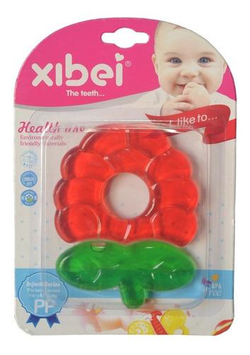 Rasca Encias Mordedor De Bebes Lisos Xibei Colores Vivos