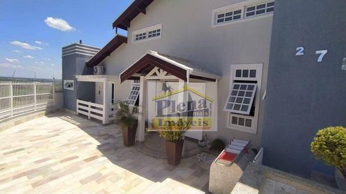 Chácara Com 4 Dormitórios À Venda, 1200 M² Por R$ 1.450.000 - Condomínio Chácara Grota Azul - Hortolândia/sp - Ch0146