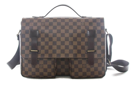 Portafolio Louis Vuitton Damier Ebene Broadway Messenger