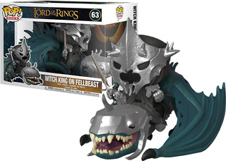 Funko Pop 63 Witch King Fellbeast Lord Rings Señor Anillos