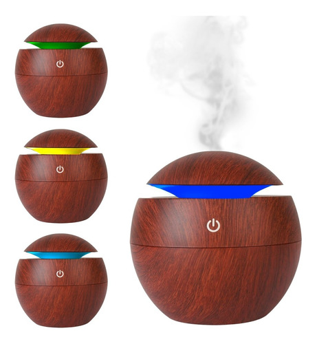 Humidificador Aire Vaporizador Aromaterapia  Saludable C Usb