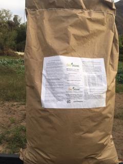 Fertilizante Orgánico Bee Organic 7-7-0.5 En Saco De 25 Kgs
