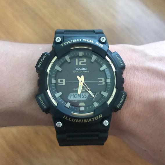 Relógio Casio Aqs810w1a3-d - Novo - Frete Grátis