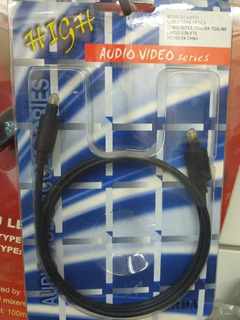 Cable Fibra Optica Toslink 90cm Audio Video