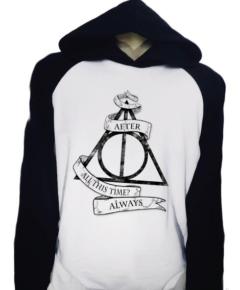 Casaco Blusa Moletom Harry Potter After All This Time Always