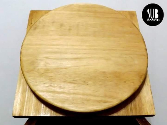 Plato Giratorio 30cm Bonsai Artesanías