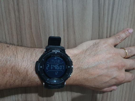 Relógio Casio Protrek Wsd F30 Preto