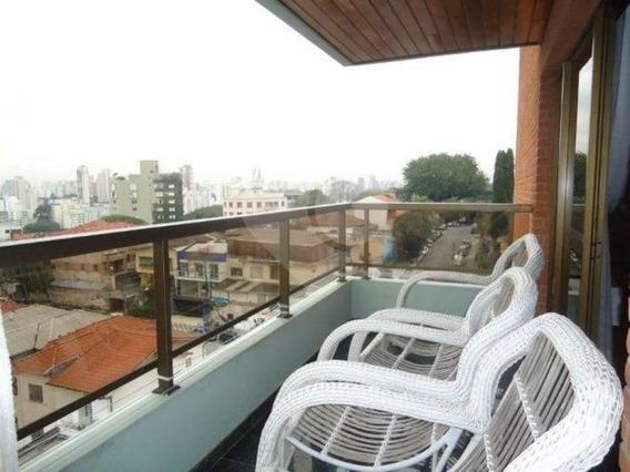 Apartamento Com 266 M² Au, 4 Suíte, 3 Vagas De Garagem, No Sumaré - 57-im34765