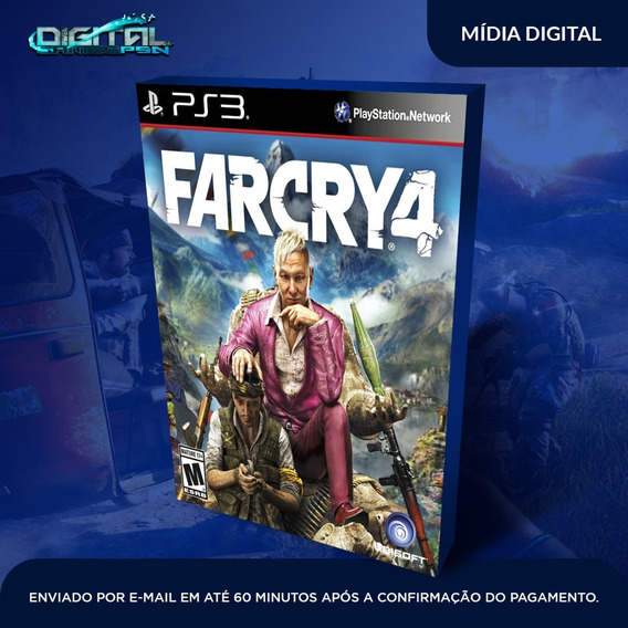 Far Cry Iv 4 Ps3 Psn Midia Digital Envio Agora!