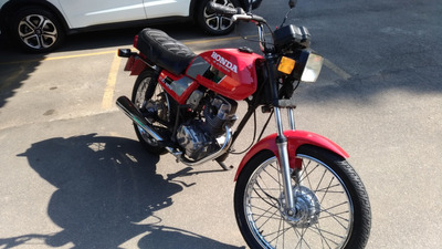 Honda Cg 125 1987 (placa Preta, Coleção) Aceito Fusca
