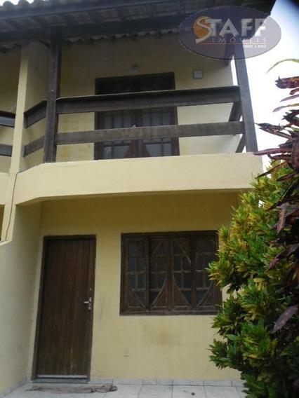 Casa Com 02 Dormitórios Para Aluguel Fixo, 80 M² - Bairro Parque Burle - Cabo Frio/rj - Ca0550