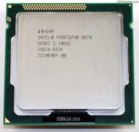 Processador Intel Socket 1155 G870 3.1ghz S/ Cooler