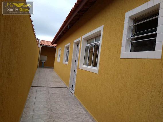 Casa Com 2 Dorms, Vera Cruz, Mongaguá - R$ 210 Mil, Cod: Ca 139 - Vca 139