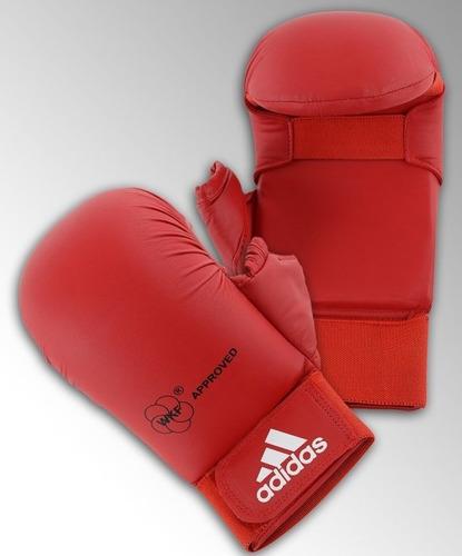 Luva adidas Karate Wkf Vermelho