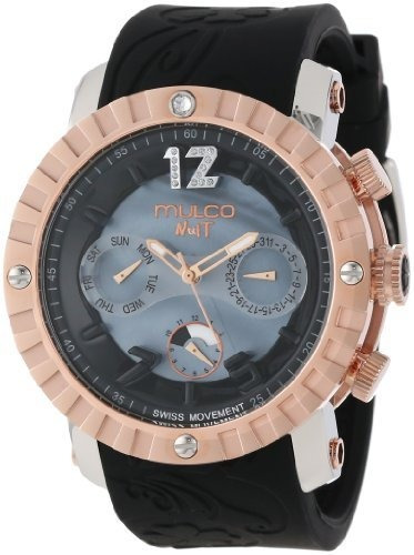 Mulco Mw5-1876-023 Reloj Analógico Suizo Cronógrafo