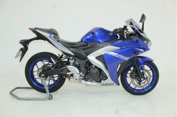 Yamaha Yzf R3 Abs 2018 Azul