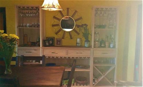 Imagen 1 de 14 de Hermosa Casa Estilo Rustico Frente Al Arroyo