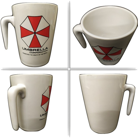 Taza Resident Evil Umbrella Logo Sector 2814
