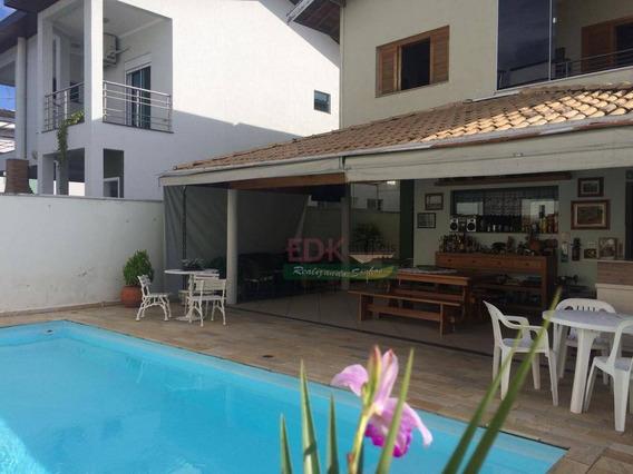 Sobrado Com 4 Dormitórios À Venda, 285 M² Por R$ 1.300.000 - Taubaté Village - Taubaté/sp - So0381