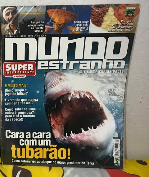 Revistas Mundo Estranho Nº 04 Ao 10 - 2002 (por Unidade)