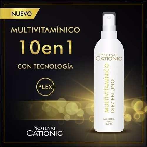 Complejo Multivitaminico 10 En 1 Para El Cabello