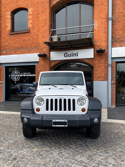 Jeep Wrangler Unlimited 2014 (patentado 2016) Color Blanco
