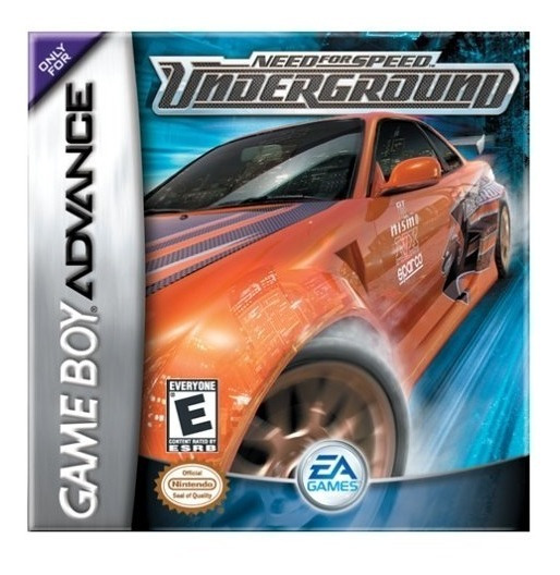 Need For Speed Underground Gba Mídia Física Lacrado