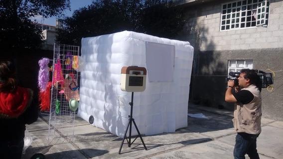 Cabina Fotográfica Con Cámara E Impresora
