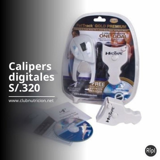 Calipers Digitales + Cinta Myotape + Cd