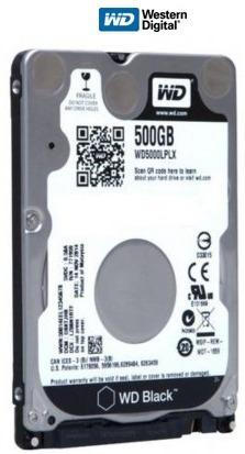 Hd Notebook 500gb 5400rpm Sata3 - Western Digital Wd5000lpcx